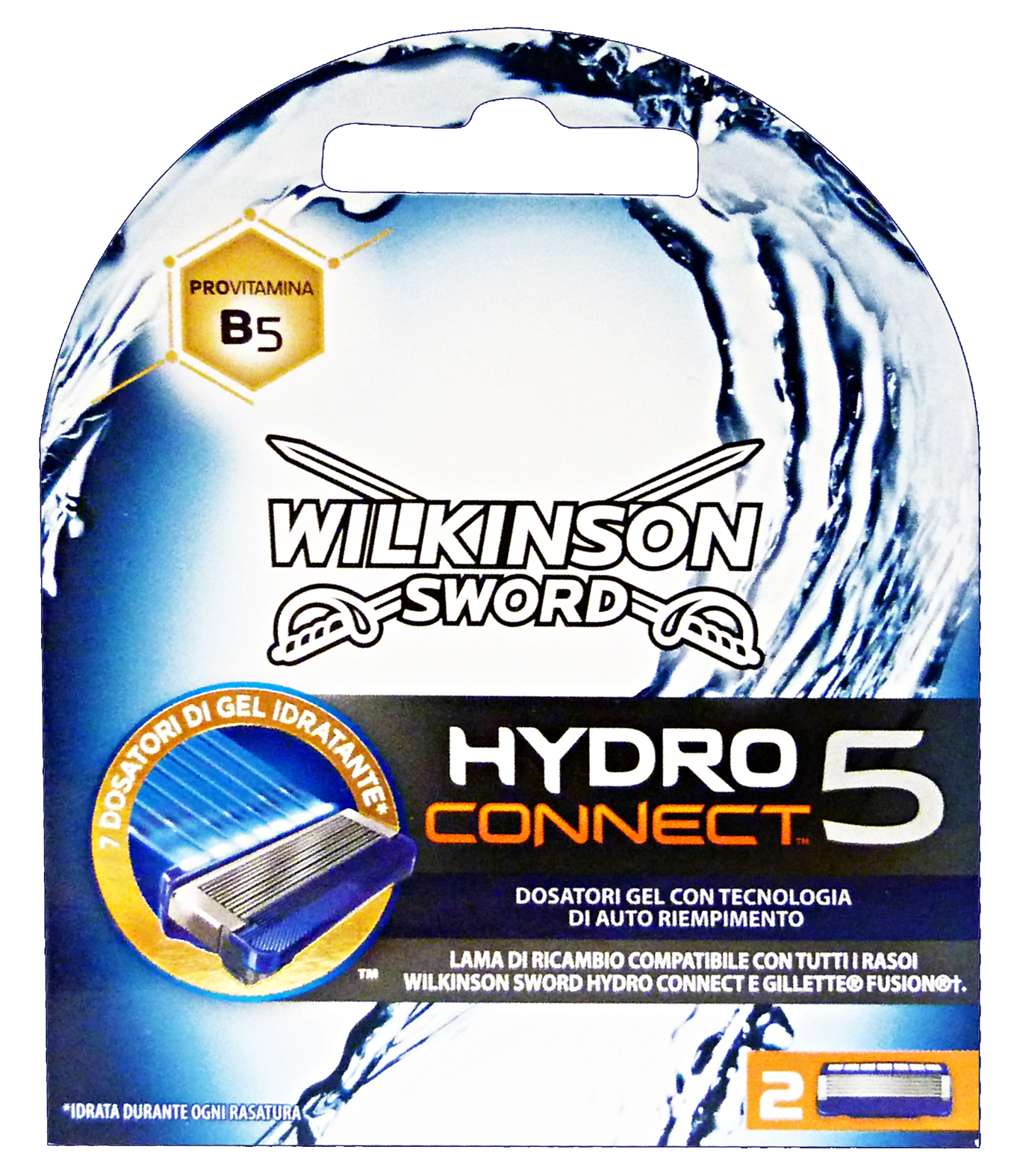 WILKINSON HYDRO 5 CONNECT LAME X2  70020240