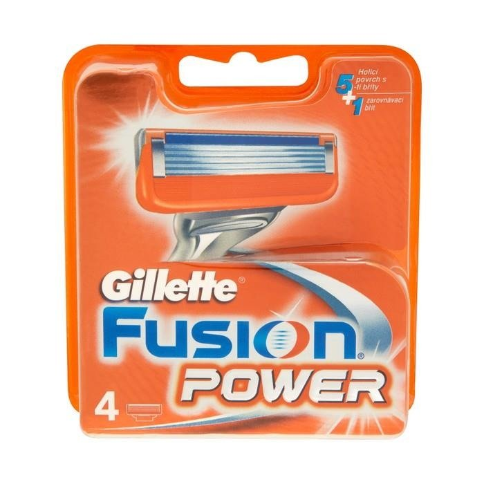 GILLETTE FUSION POWER RICARICA X 4