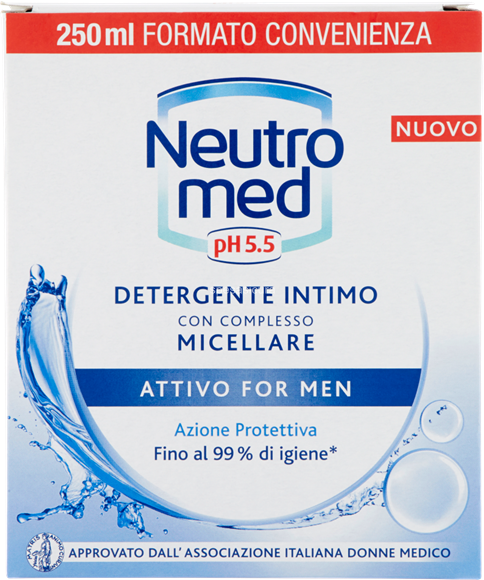NEUTROMED INTIMO FOR MEN ATTIVO 200 ML