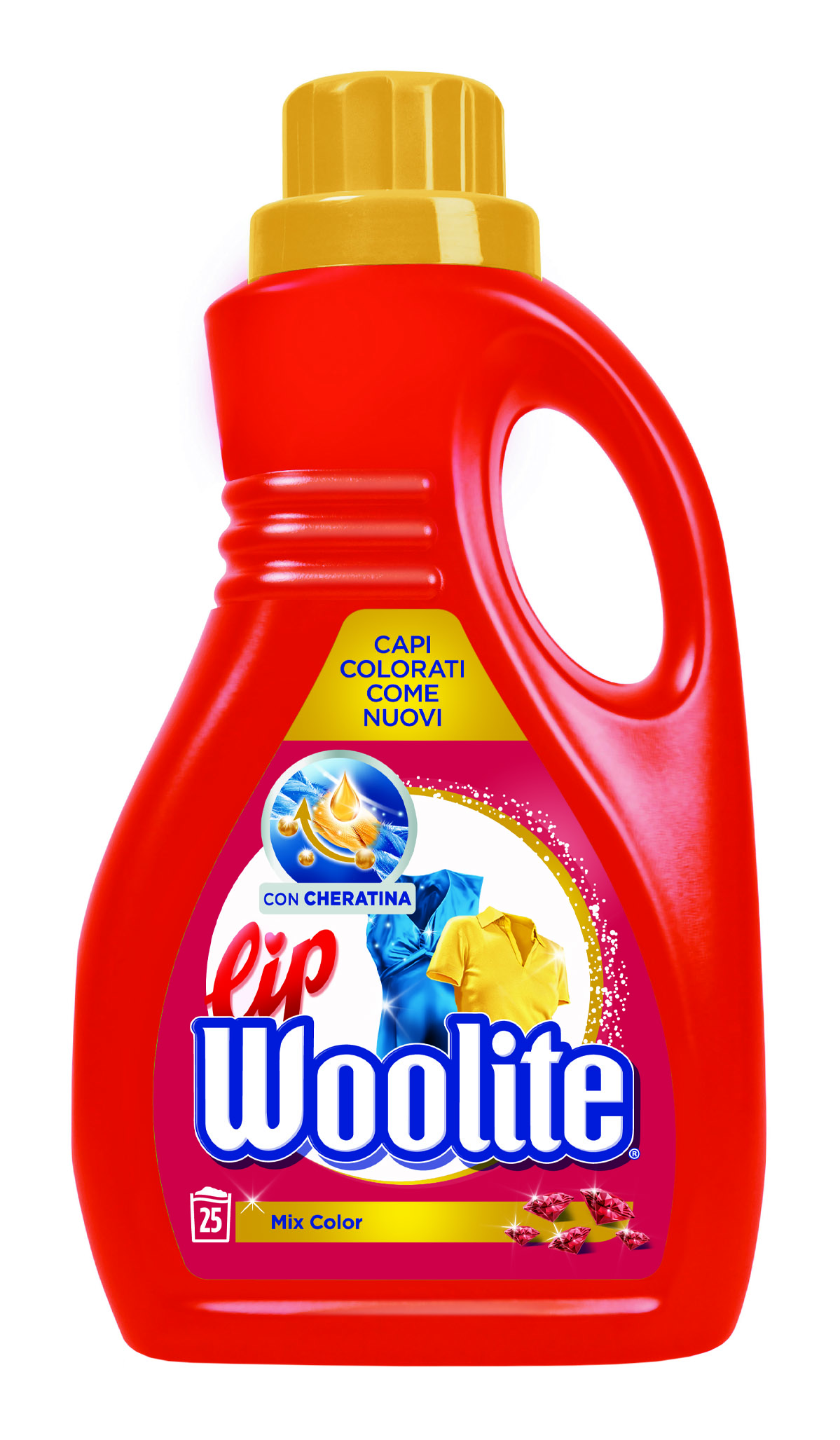 LIP WOOLITE LIQUIDO MIX COLOR 1.500 LT