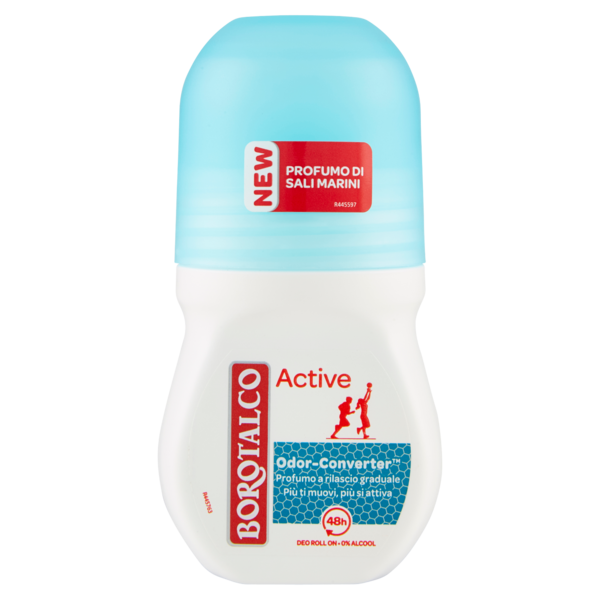 BOROTALCO DEO ROLL-ON ACTIVE 50 ML