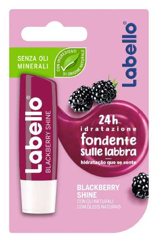 LABELLO BURROCACAO BLACKBERRY SHINE 5.5 ML