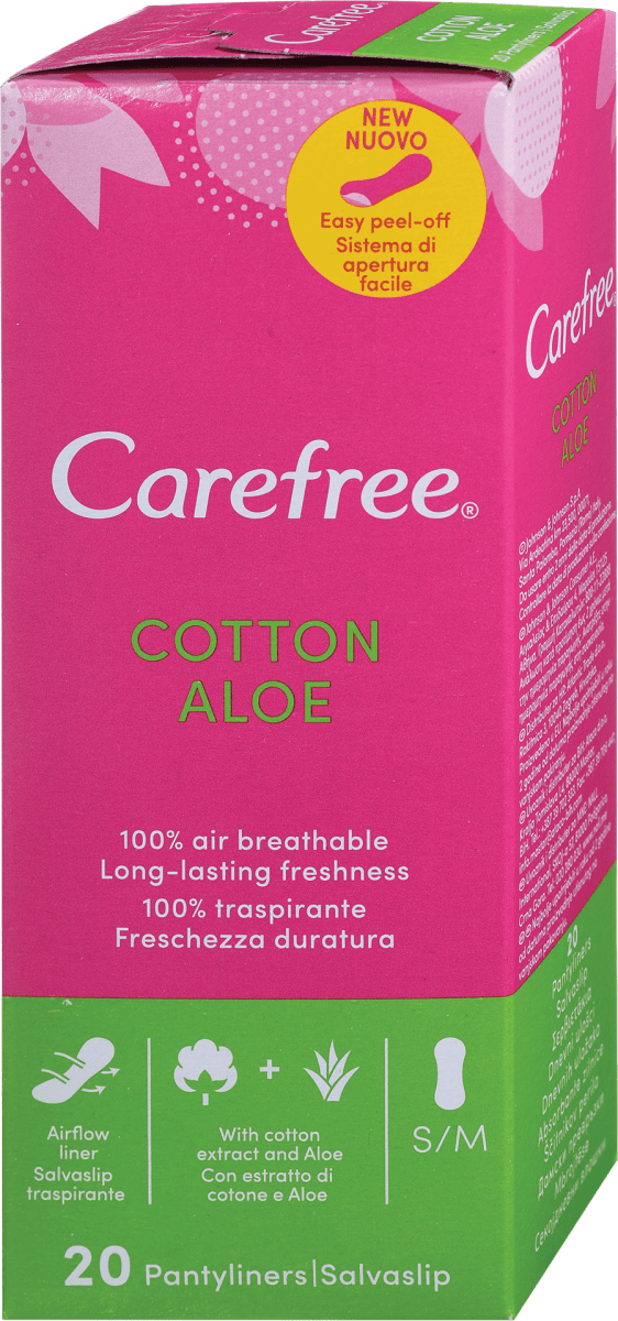 CAREFREE DISTESO ALOE X 20 PZ